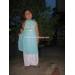 Áo dài yếm bé gái số 5 bé 4-5 tuổi